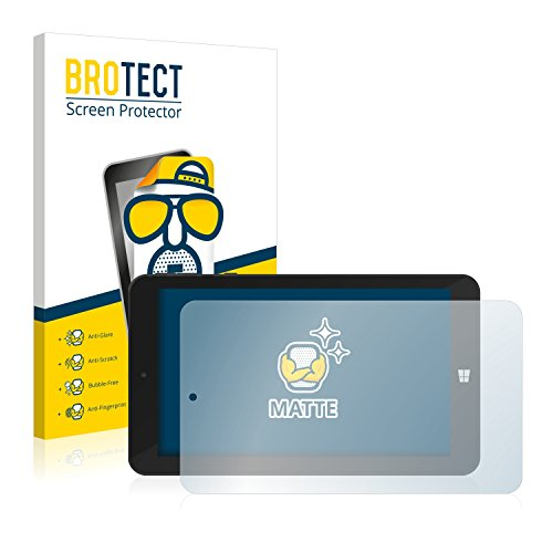 BROTECT 2X Entspiegelungs-Schutzfolie kompatibel mit TrekStor SurfTab Wintron 7.0 Bildschirmschutz-Folie Matt, Anti-Reflex, Anti-Fingerprint
