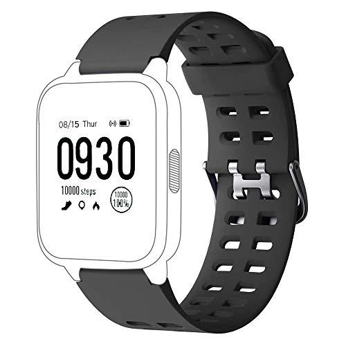 Yishark Correa de Repuesto para ID205 ID205L ID205S ID205U ID205G Smartwatch Reloj Inteligente Pulseras de Repuesto para ID205 ID205L ID205S ID205U ID205G Pulsera de Actividad Pulsómetros Podómero