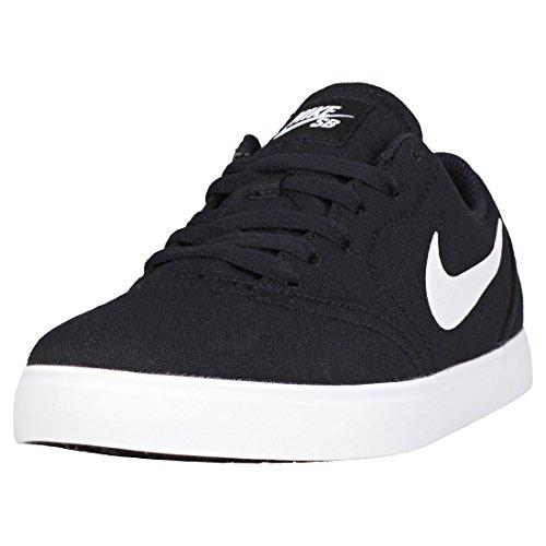 Nike Unisex-Kinder SB Canvas GS 905373-003 Sneaker, Mehrfarbig (Black 001), 39 EU