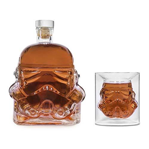 Original Stormtrooper Whiskey Premium Set - Karaffe und EIN Glas - Lizenzprodukt