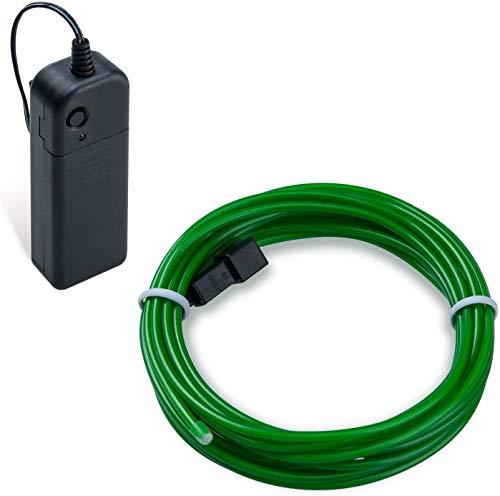 COVVY Cable LED Tira de Luces de Neon Flexible de Alimentado