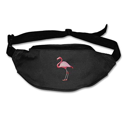 Tvox8x Flamingo Water Resistant Runners Belt Waist Pack For Men Women Jogging Hiking Fitness
