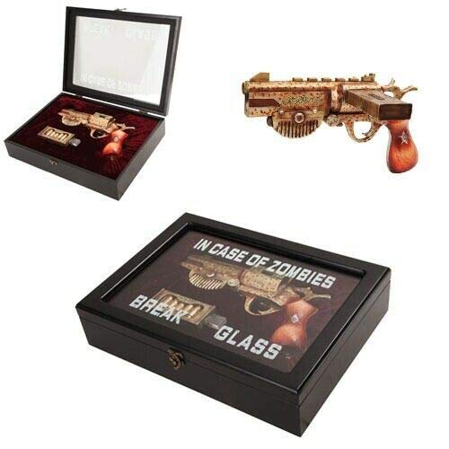Zombie Survival KIT Steampunk Vaporizer with Glass CASE Box and Magazine - Favorite Decor Store