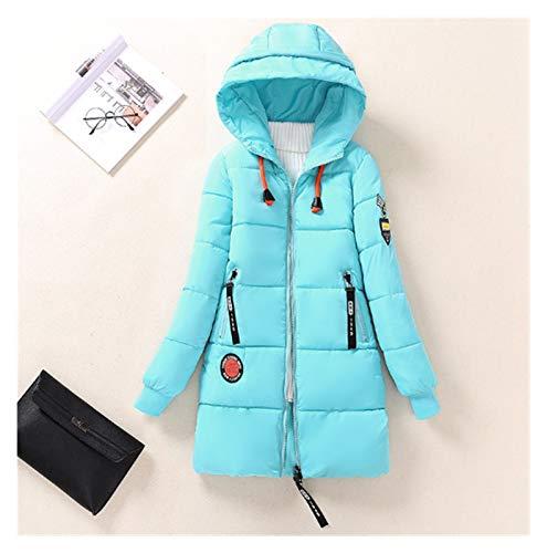 SSN Chaqueta de invierno de algodón para mujer Parkas gruesa cálida con capucha abrigo más...