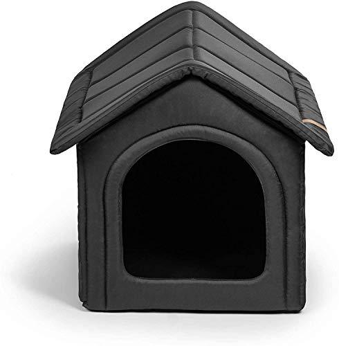 Rexproduct Home Premium - Caseta Impermeable para Perros, Resistente a los arañazos, 3XL, Gris Oscuro, 4 Libras