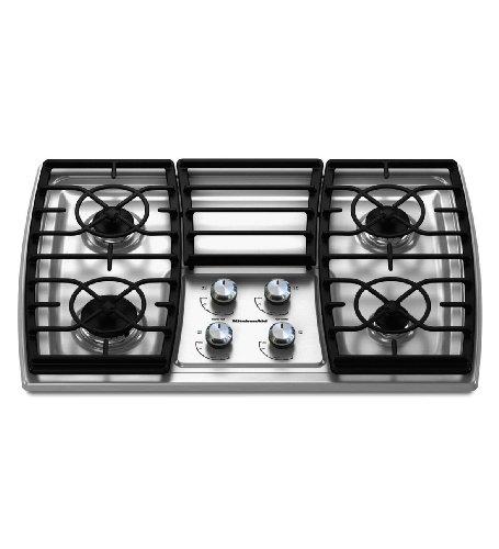 Big Sale Best Cheap Deals Kitchenaid KGCK306VSS 4 Burners Stainless Steel Surface Architect Series II