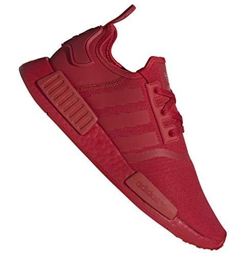 adidas Originals NMD R1 - Zapatillas con suela roja (talla 40), color rojo
