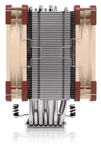 Noctua NH-U12A, Disipador de CPU de Gran Calidad con Ventiladores NF-A12x25 PWM de Alto Rendimiento (120 mm, Marrón) 2