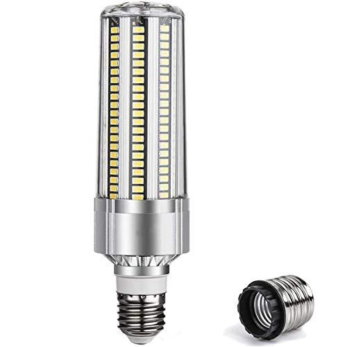led e27 Glühbirne Mais Licht 50W Ersatz 500W Mit E40 Lampensockel 5500LM tageslicht Kaltweiß 6500K 360° Abstrahlwinkel LED Leuchtmittel Energiesparlampe Super Hell für Großflächige Beleuchtung