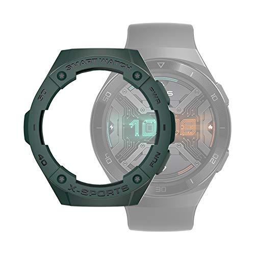DaiMai Para Huawei Watch GT2e Smart Watch TPU funda protectora, color: verde ejército WH