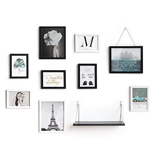 estantería de pared blanco de la marca SONGWAY