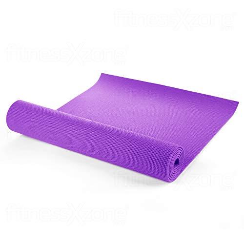 fitnessXzone Yoga Mat - EXTRA THICK 6mm - 173cm x 61cm - Non...