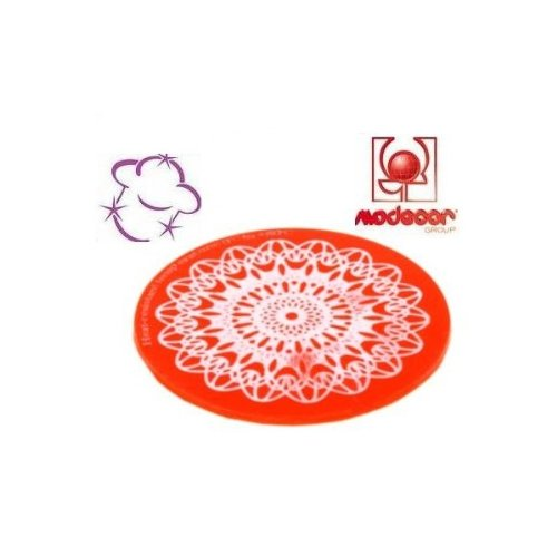 STAMPO SWEET LACE EXPRESS * MILANO (DIAMETRO 8,5 cm) * MODECOR DECORAZIONI CAKE DESIGN PASTA ZUCCHERO