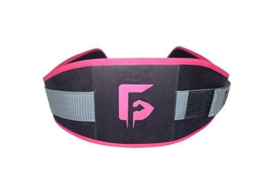 Gunsmith Fitness Cinturón de lastre para Mujeres Crossfit, Gimnasio, Soporte para Espalda, Musculación, Sentadillas, Peso Muerto (S)