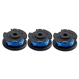 3PCS Remplacement Spool, Tondeuse Thermique à Fil Fauchage Ligne Pelouse Corde Compatible avec Ryobi Tondeuse à Gazon…