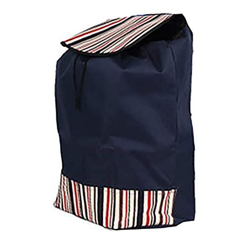 WYZXR Einkaufswagentasche/Einkaufswagen Ersatztasche mit Seitentaschen Ersatztasche für Trolley,Oxford Tuch wasserdichte Aufbewahrungstasche 44L(Größe: 40x22x50cm) Einkaufen (Color : C)