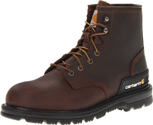 Hot Sale Carhartt Men's CMU6142 Work Boot,Dark Brown Oil Tanned,11 M US