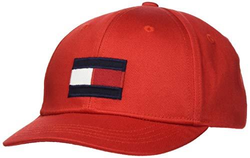 Tommy Hilfiger Big Flag cap Cappello, Cremisi Profondi, M Unisex-Bambini