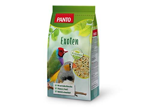 Panto Ziervogelfutter, Exotenfutter 1 kg, 5er Pack (5 x 1 kg)