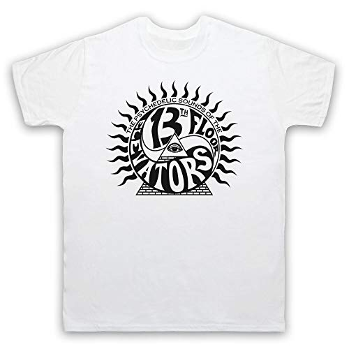 The 13Th Floor Elevators Psychedelic Rock T-Shirt Adults White S