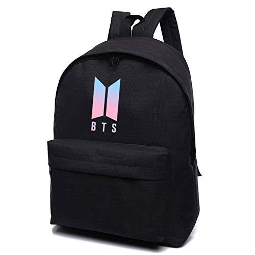 Bosunshine - – Kpop BTS Tasche Büchertasche College Bag Schultasche Rucksack (H01)