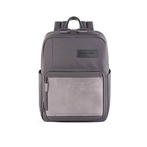 Piquadro Backpack RFID 42 cm Laptop Compartment - Grey - M