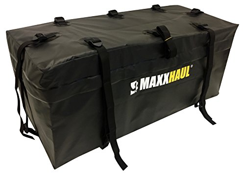 "MAXXHAUL 70209 Hitch Mount Waterproof/Rainproof Cargo Carrier Bag 47"" x 20"" x 20"""