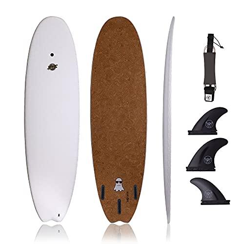 South Bay Board Co. - 6'8' Hybrid Surfboard -...