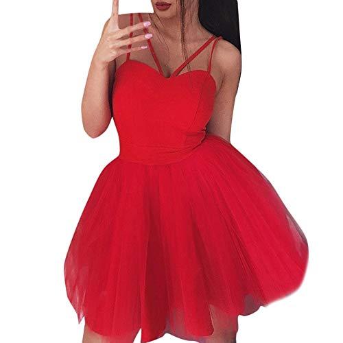 PinkLu Kleiden Damen Sexy Sling Mesh-Kleid Mit Offenem RüCken Und V-Ausschnitt Nachtclubparty Einfach Und Bequem Mode Wild Sommer Neuer HeißEr 4-Farbiges Kleid
