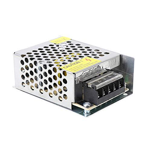 MISHITI AC 110V-220V a DC 24V 1A interruptor fuente de alimentación controlador adaptador LED tira de luz