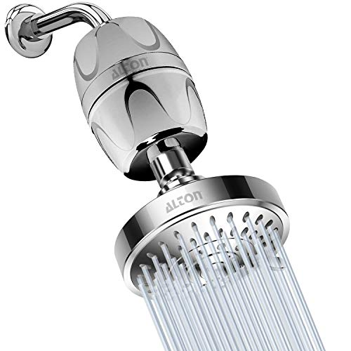 ALTON SHR20180, Hard Water Filter With 5-Function Overhead Shower, Reduce Hair-Fall (Chrome Finish)