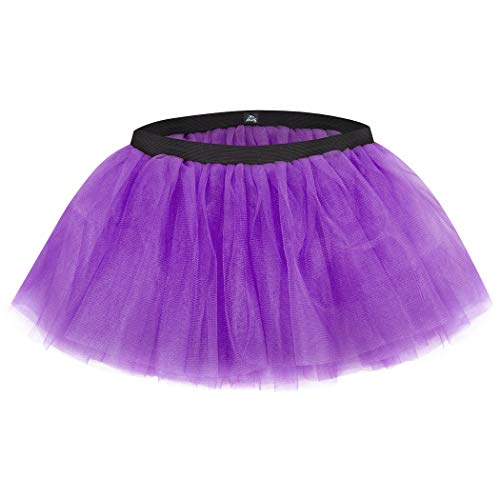 Gone For a Run Runners Tutu Lightweight | One Size Fits Most | Neon Purple