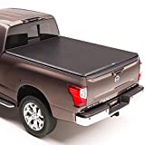 TruXedo TruXport Soft Roll Up Truck Bed Tonneau Cover | 297401 | fits 16-20 Nissan Titan w/Track System 5'6' bed