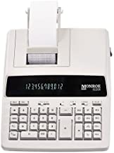 $69 » Monroe Systems for Business 6120X Genuine Monroe 12-Digit Print/Display Business Medium-Duty Calculator, Ivory (Renewed)