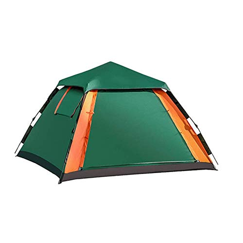 Tent for Camping Outdoor Waterproof Pop-up Tent, Three-person Quick Installation System, Quick-pitch, Foldable Holiday Tent, With Ultraviolet-resistant Light-weight Portable Embedded in The Ground