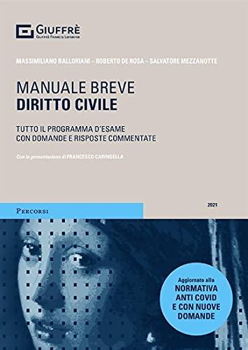 Diritto civile. Manuale breve. Tutto il programma d'esame con domande e risposte commentate