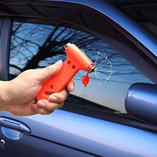 Martillo De Seguridad Para Automóviles 2 En 1 Martillo De Seguridad Para Coche Herramienta De Escape De Emergencia Martillos De Emergencia Para Coche Para Romper Cristales De Escape De Emergencia