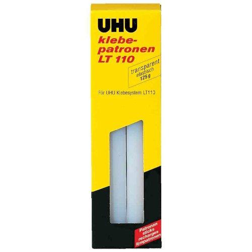 UHU 48620 Klebepatrone Low Melt, 125 g, transparent
