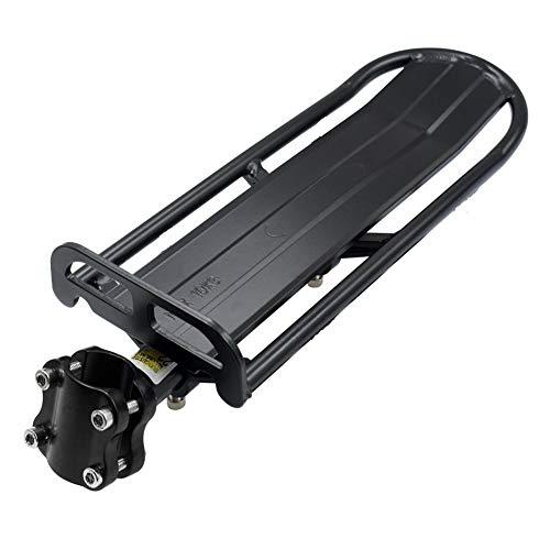 Portapacchi Bici, Baiker Alluminio Seggiolino Bici Posteriore Porta Rack Bicicletta MTB portapacchi Cargo Bicicletta Accessori con Riflettore