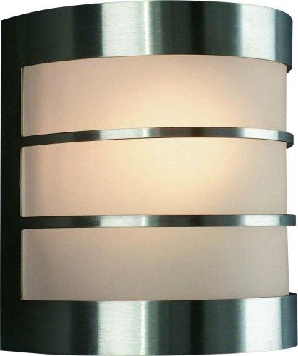 Philips myGarden Calgary - Aplique sin sensor, LED, 60 W, iluminación exterior, color gris