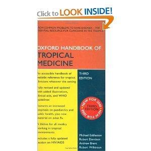 Oxford Handbook of Tropical Medicine 3rd (Third) Edition byEddleston