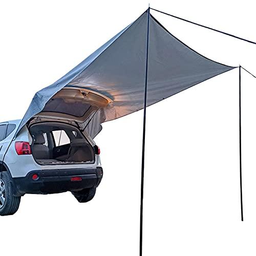 HEXLONG Tienda de campaña de coche Sun Shelter Auto impermeable Camper Trailer Canopy para SUV MPV Hatchback Minivan Sedan Camping al aire libre