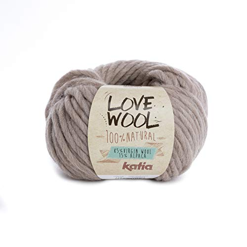 20 80 m Wolle BIG MERINO von Katia - 100 g // ca VISÓN