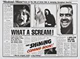 The Shining - Jack Nicholson - U.S Movie Wall Poster Print