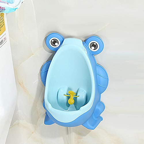 Baby Urinal Animal Cartoon Boy Frog Potty Toilet Pee Trainer Wall-Mounted Toilet Pee Trainer For 0-6 Ages Children A