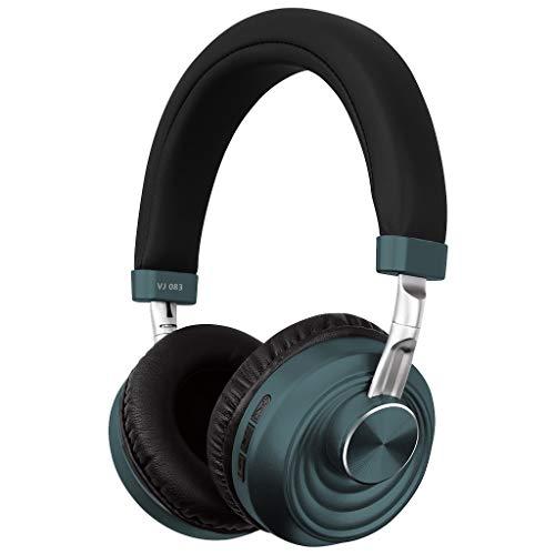 Fulltime VJ083 Modieuze opvouwbare draadloze koptelefoon, bluetooth, bluetooth muziek, schakelen tussen verbonden en draadloos, voor jongens
