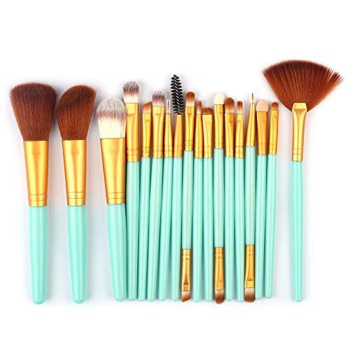 WBXZAL-Pinceau de maquillage fan de cosmétiques brosse brosse outil esthétique cosmétique,g