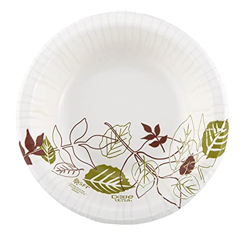 Dixie Ultra Heavy-Weight 12 Oz Paper Bowl by GP PRO (Georgia-Pacific), Pathways, SXB12WS, 500 Count,...