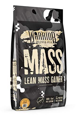 Warrior Supplements Warrior Mass - Lean Muscle Weight Gainer - Salted Caramel, 5kg