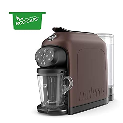 Lavazza LM 950 Modo Mio Espresso Coffee Machine Deséa, Walnut, Plastic